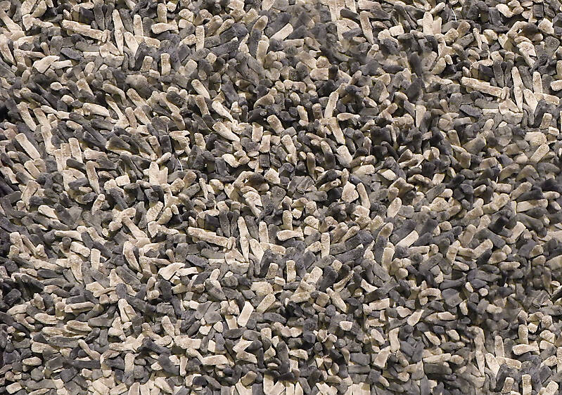 light and dark brown hairy carpet