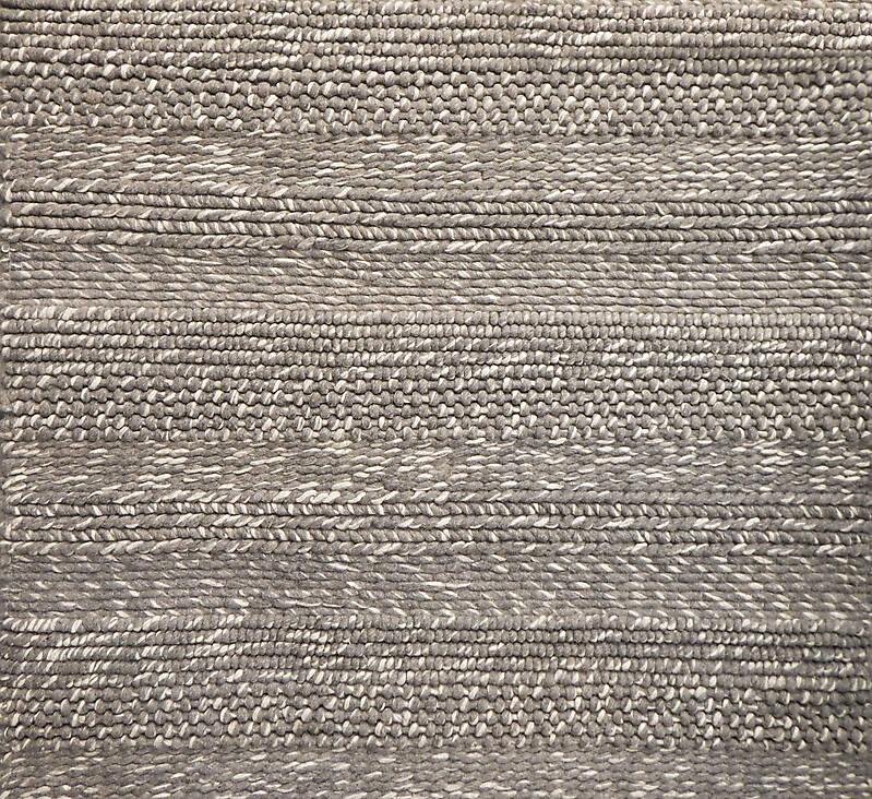 rug whool solid grey