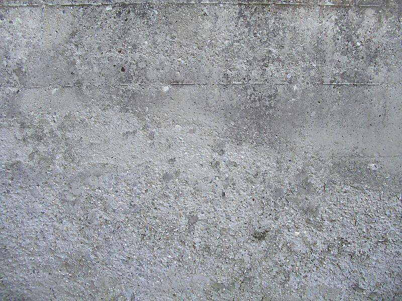 Concrete ruined