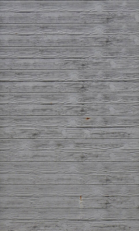 concrete with displacements wood
