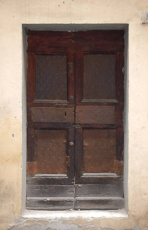 medieval old wood door 2
