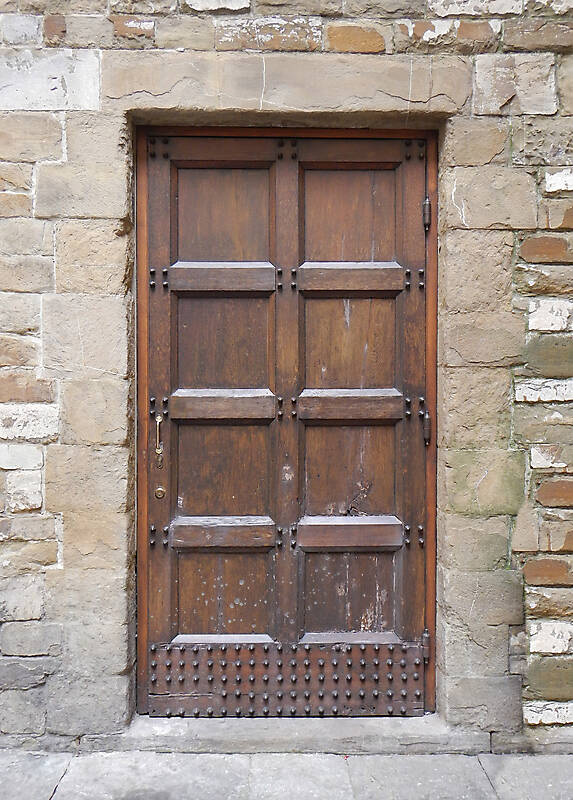 medieval old wood door 4
