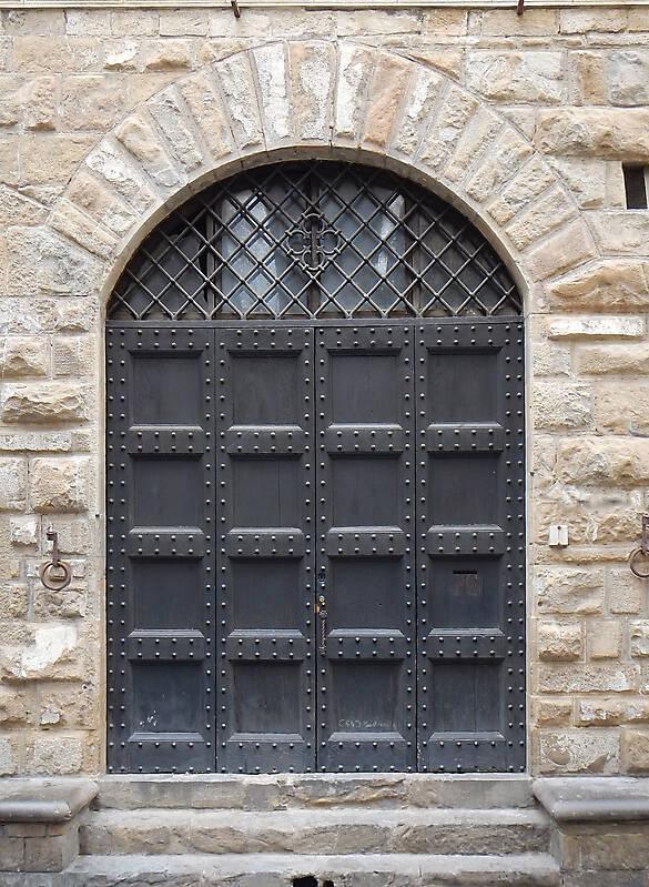 medieval old wood door 5