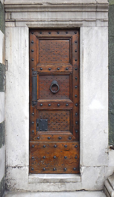 medieval old wood door 7