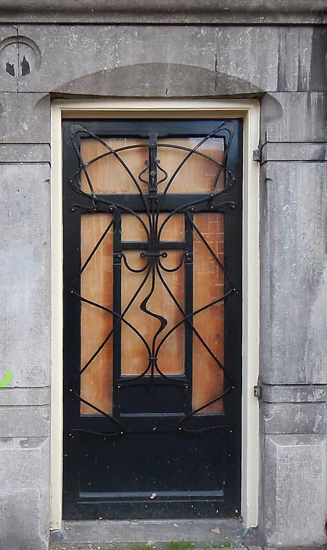 neoclassical wood door 11