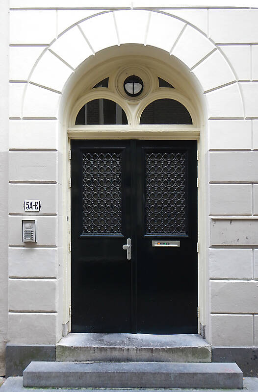 neoclassical wood door 16