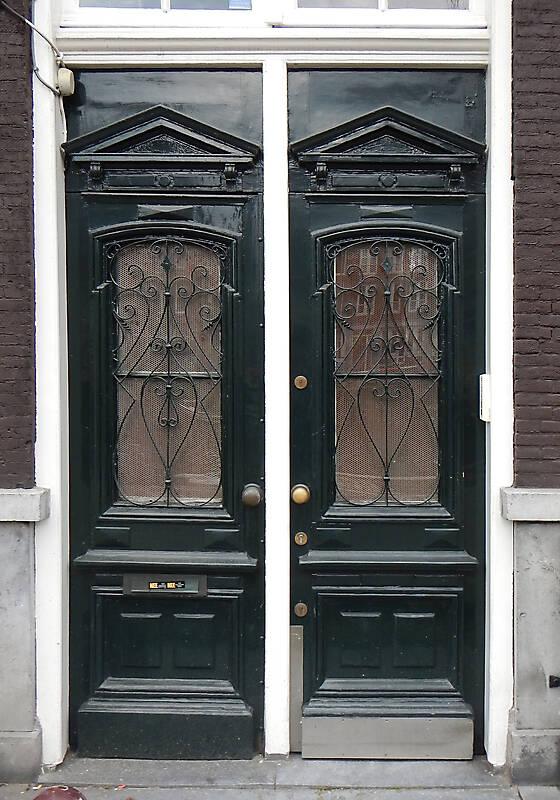 neoclassical wood door 17