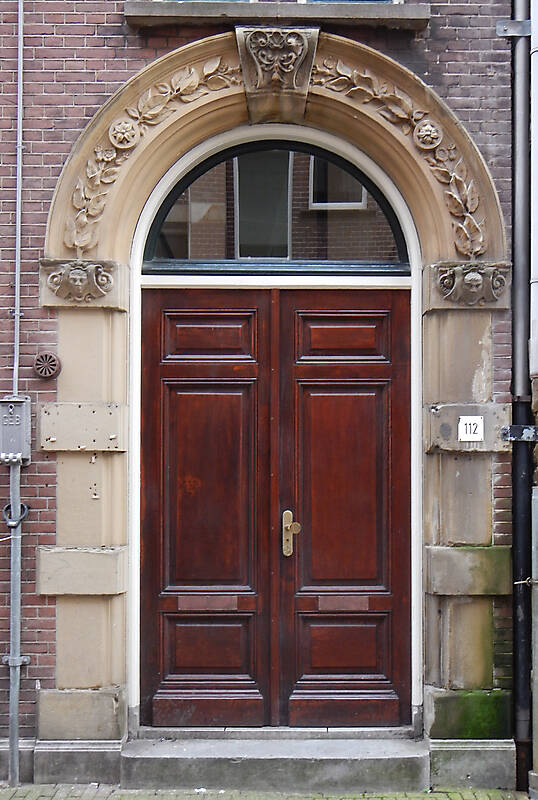 neoclassical wood door 19