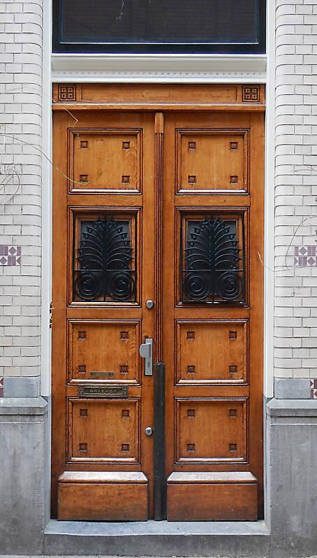 neoclassical wood door 20