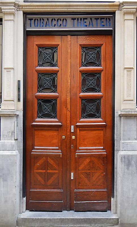 neoclassical wood door 23