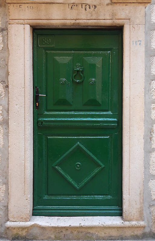 neoclassical wood door 26