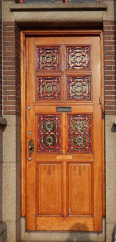 neoclassical wood door 6