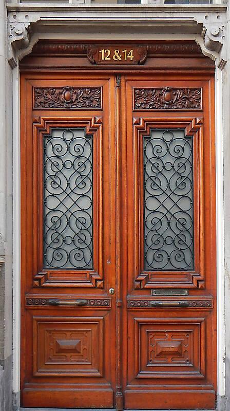 neoclassical wood door 9