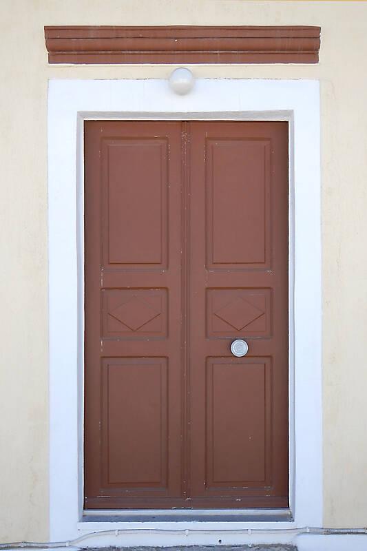 old clean decorated wood door 16