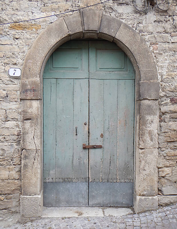 ... door medieval old paint year 1600 ... & Texture - old clean decorated wood door 9 - Old Doors - luGher ...