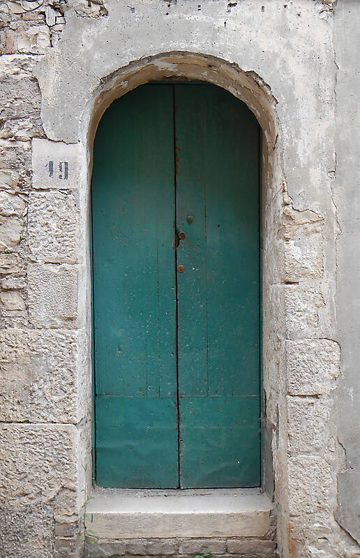 door medieval very old year 1600