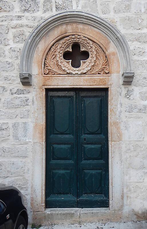 green old stile door 6