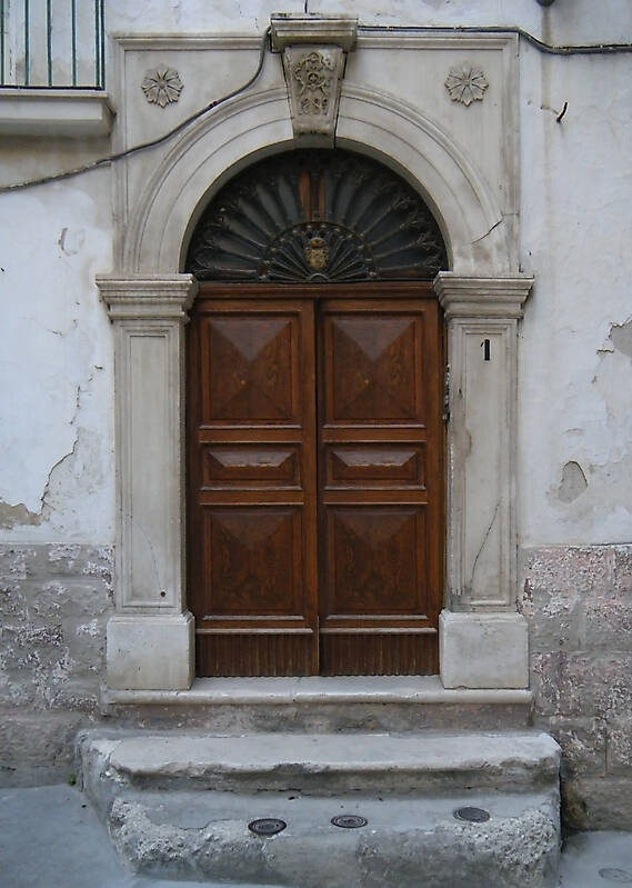 medieval old door1