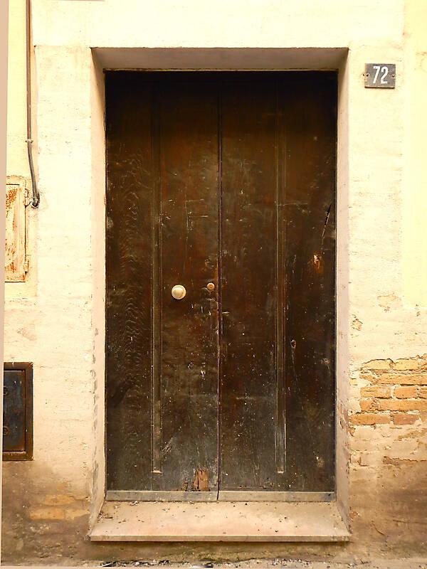 old clean decorated wood door 25