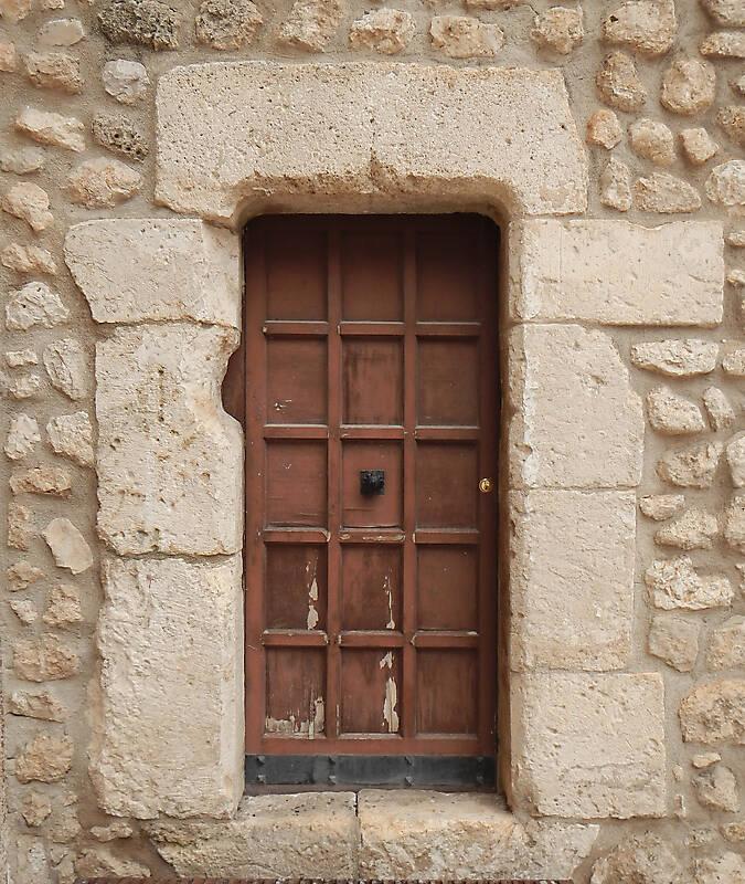 old door brown 2