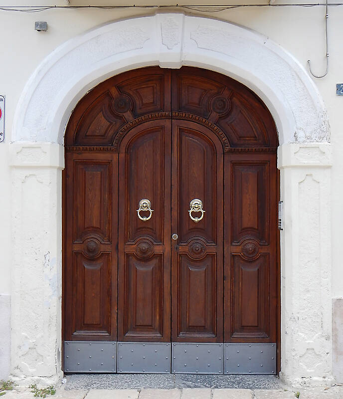 old ornate door