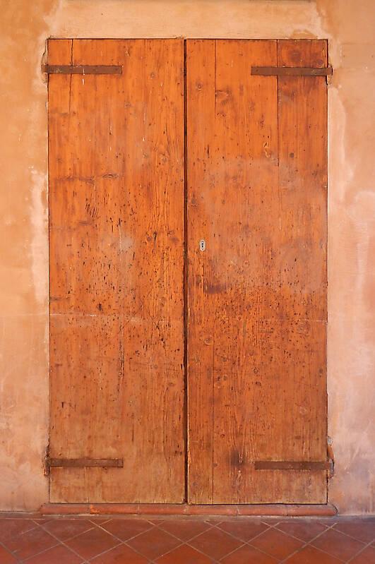 old scraped wood door 8