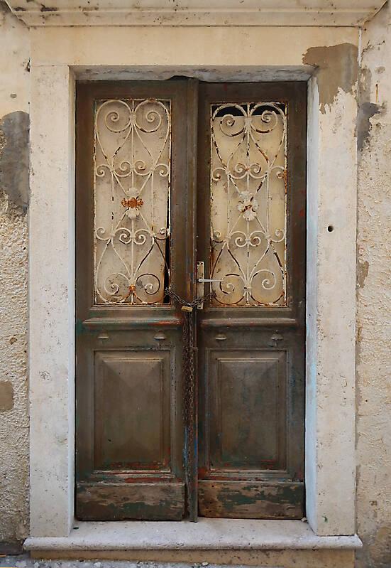 very ruined wood door 8