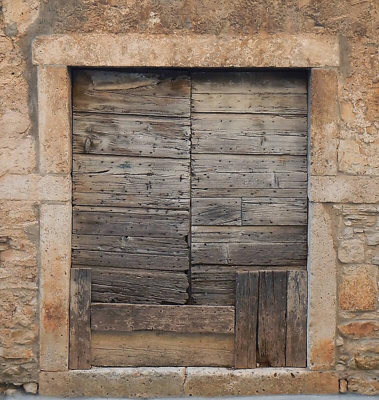 fixed old medieval door 4