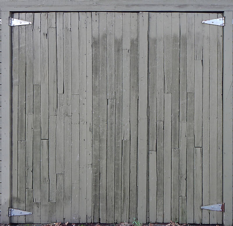 Garage Door Texture : Texture old planks garage door ruined doors lugher