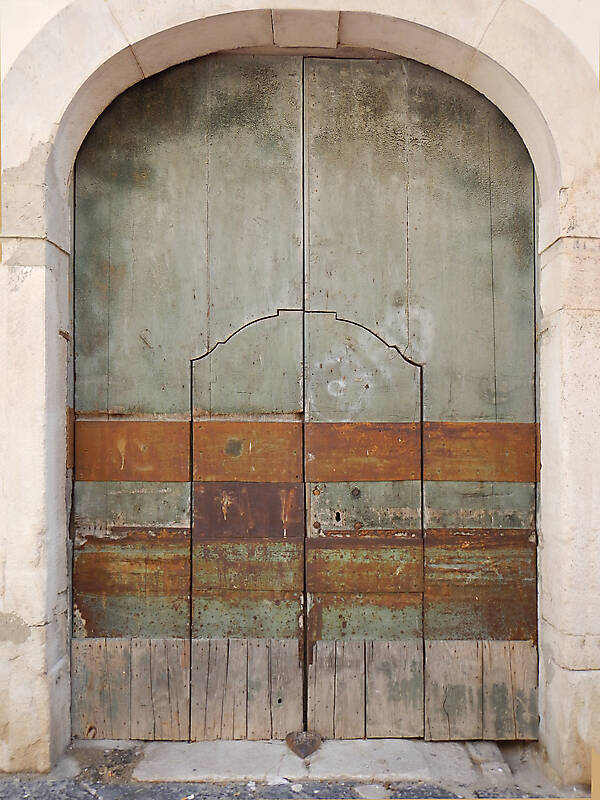 very ruined wood door 13