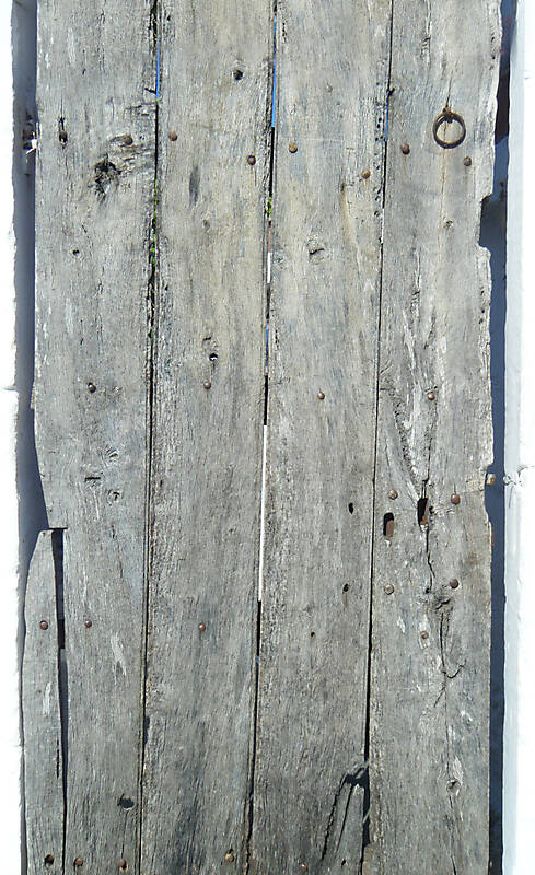 wood old door planks