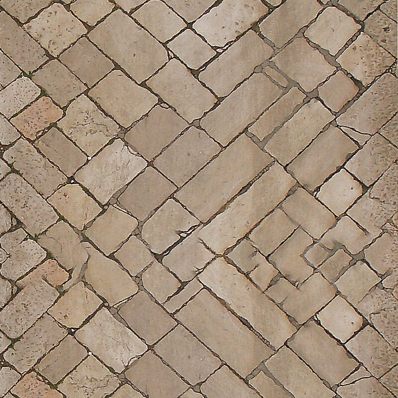 antique pavments outdoor