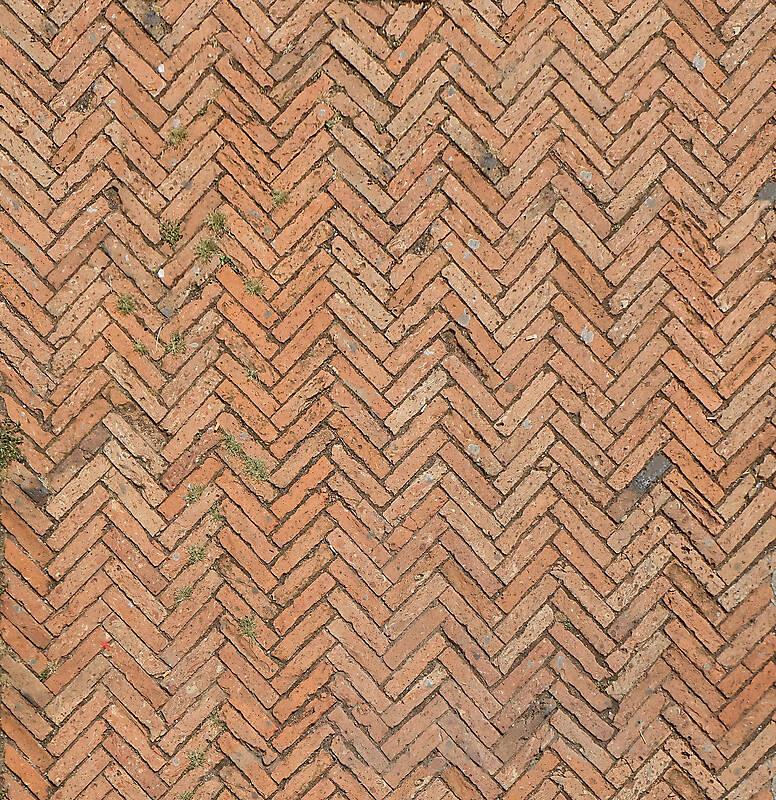 medieval bricks pavement 2