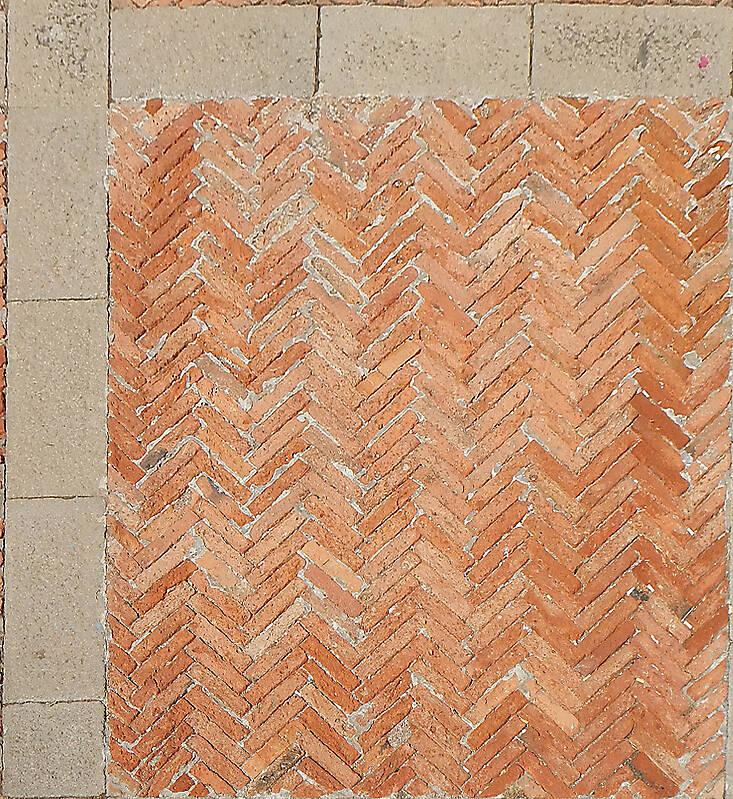 medieval bricks pavement 3
