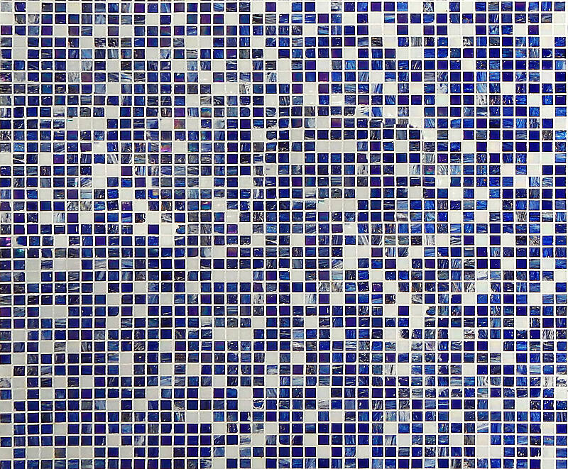 modern glass mosaic