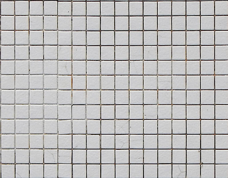 White Mosaic Floor Tile
