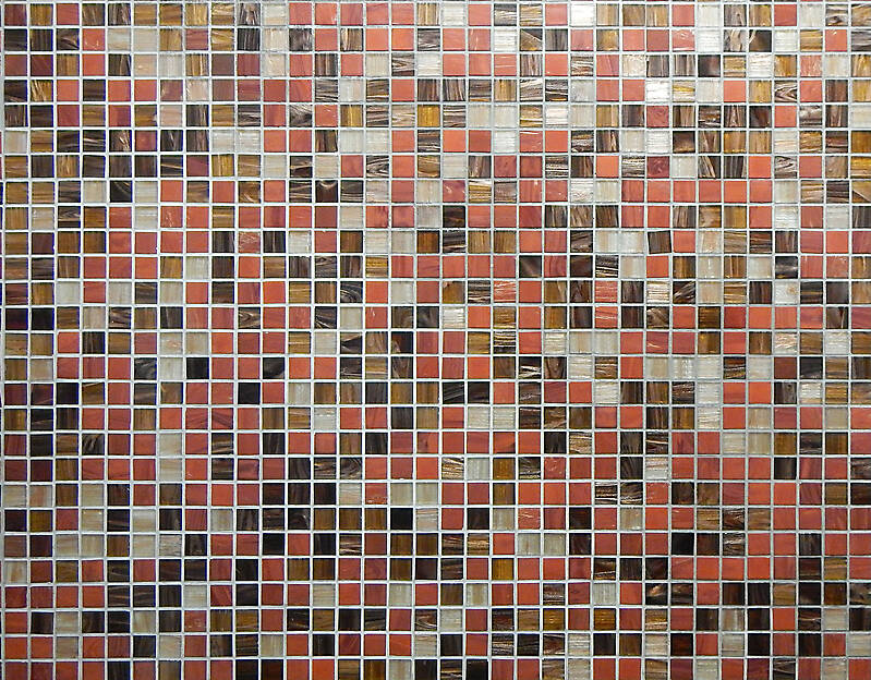 red and black modern mosaic