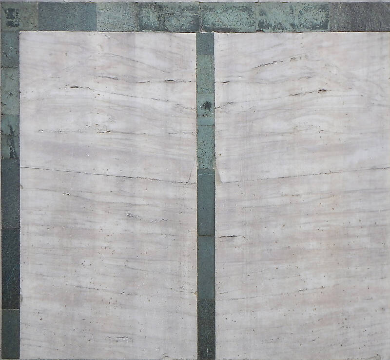 white and green marble 2