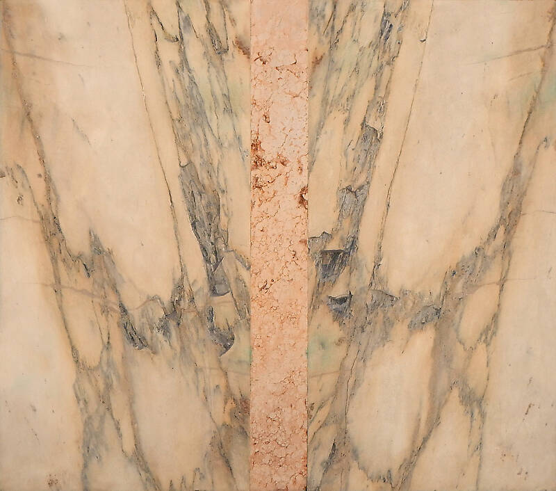 yellow gray marble