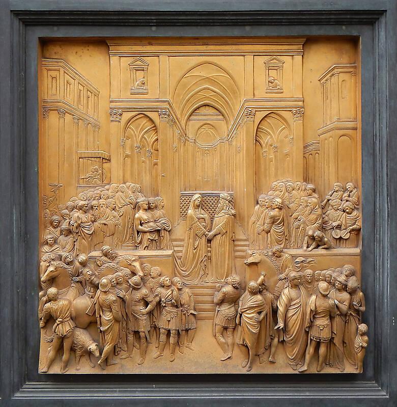 golden plate door ornaments 1