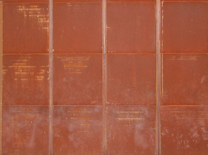rusty only heavy brown mosaic