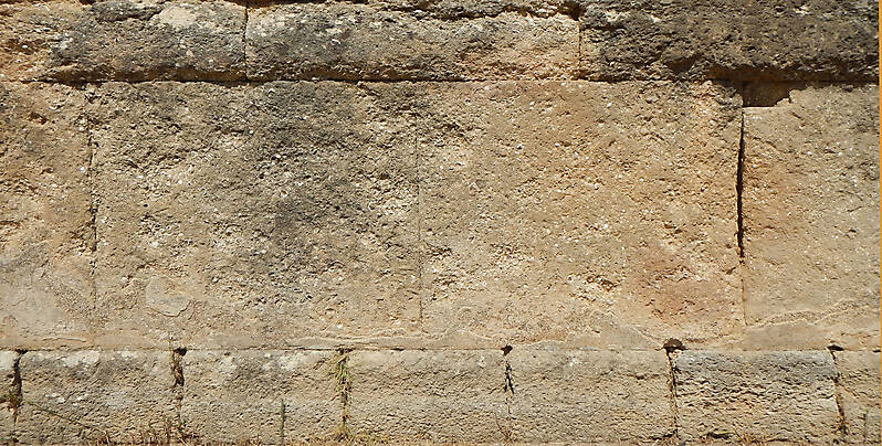 medieval  stone blocks from athen 18
