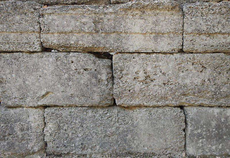 Stone Block Texture : Texture medieval crude stone blocks from athen