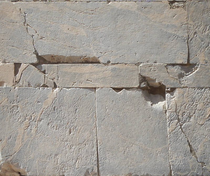 medieval stone blocks from athen 21