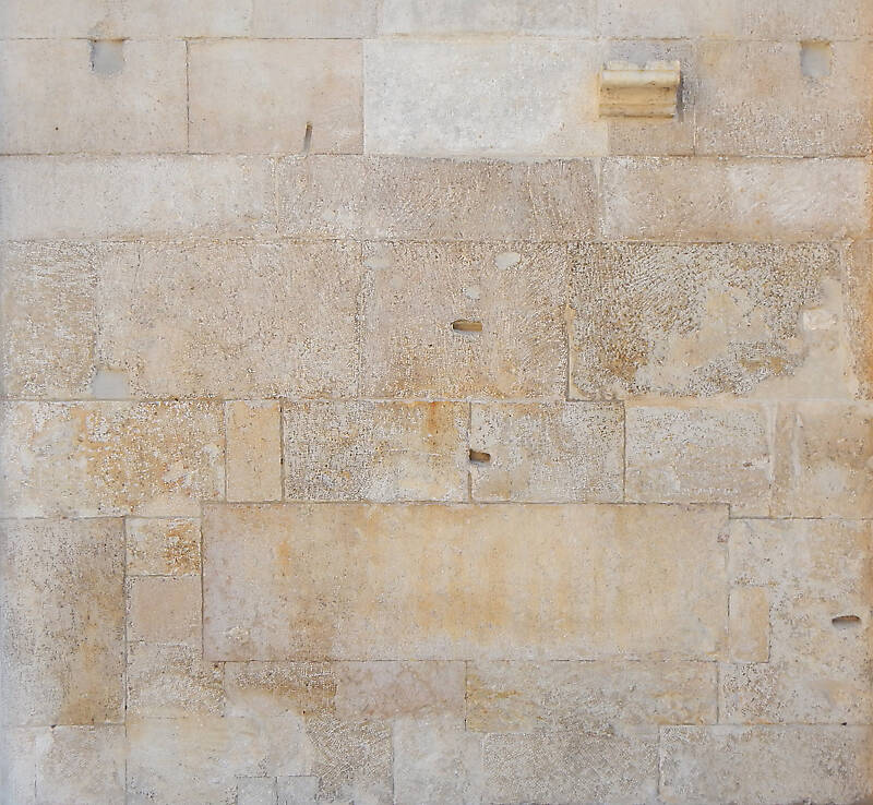 medieval stone blocks from athen 28