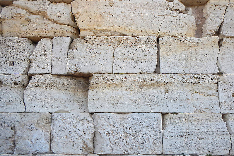 medieval stone blocks from athen 8
