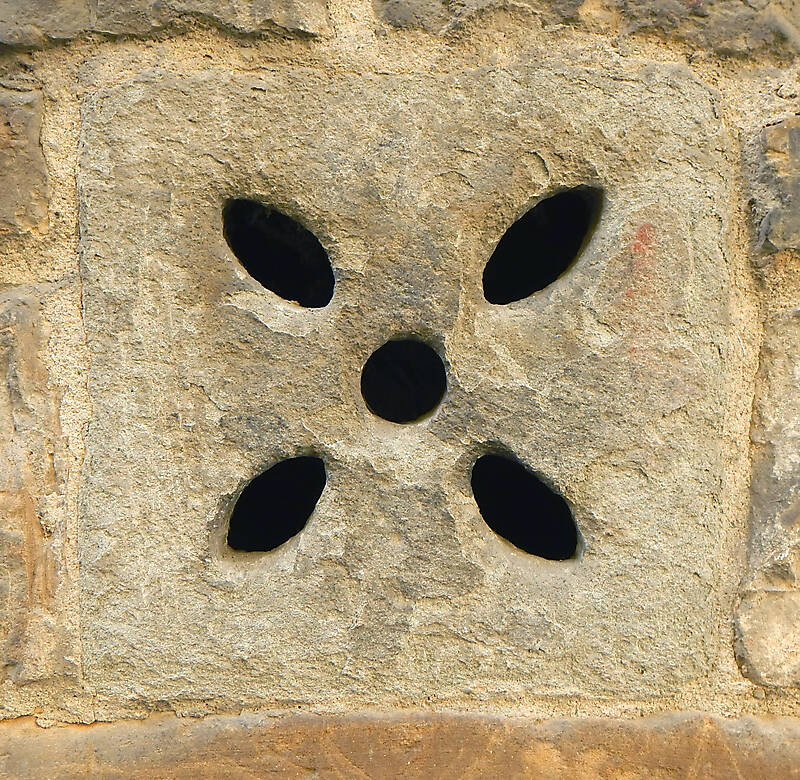 little stone window