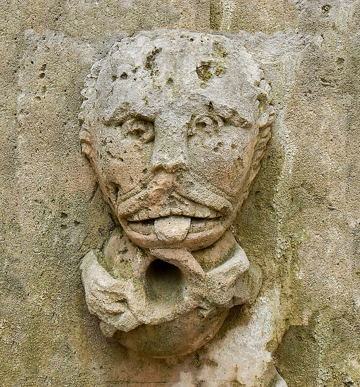 medieval old face 20