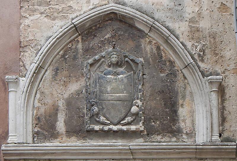 medieval stone emblem venice 1
