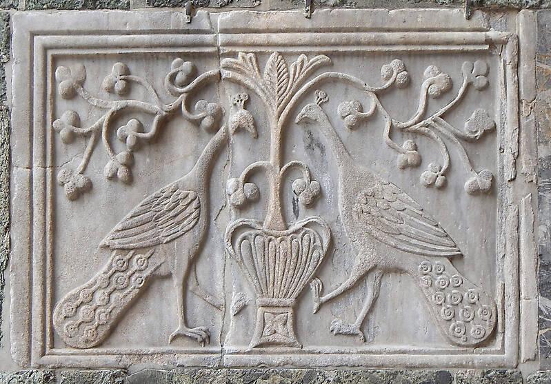 medieval stone ornament venice 11